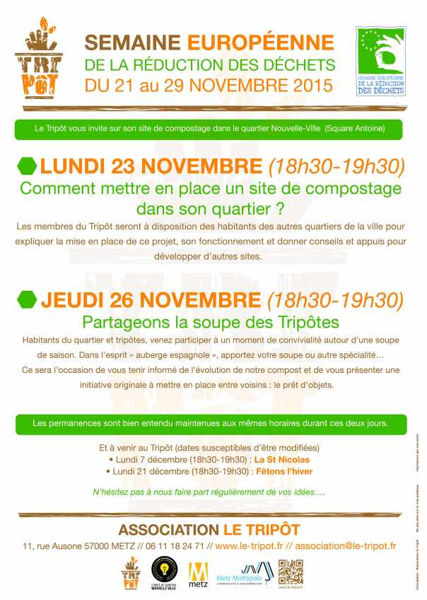 Evènements de novembre 2015